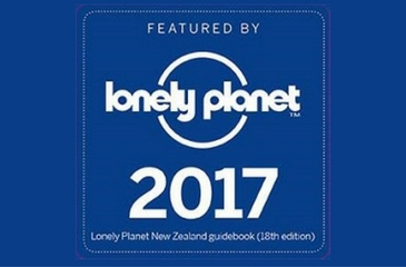 Off The Track Havelock North Restaurant featured in Lonely Planet 2017